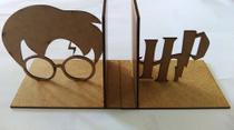 Suporte Aparador De Livros, Cds E Dvds - Harry Potter - Cutmania