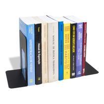 Suporte Aparador Porta Livros Bibliocanto Organizador em Aço - Getuton