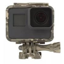Suporte Armação Moldura Frame Camuflado Cinza GoPro Hero 5/6/7 - Shoot