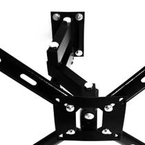 Suporte articulado com 4 movimentos para TV-Plasma-LG 50 polegadas - Cab Quality