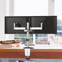 Suporte Articulado para 2 Monitores LED e LCD de 13 a 27 - Brasforma
