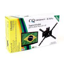 """Suporte Articulado TV 4 Movimentos Led Smart 4k Monitor 32 40 47 48 50 55 Samsung LG Sony 10 Até 70"""" - Cab Quality"""