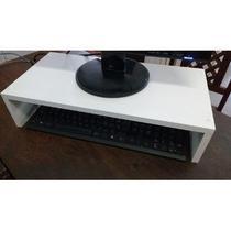 Suporte Base P/ Monitor/computador em MDF 60x10x25 - Loja Straub
