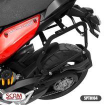 Suporte baú lateral multistrada1200 2010-2015 spto164 scam -