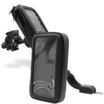 Suporte Capa Celular GPS Moto Bike 360º Prova D'agua - Hrebos
