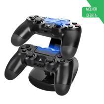 Suporte Carregador Duplo Ps4 Playstation 4 Controle - Boni -