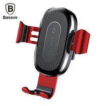 Suporte Carregador Veicular Sem Fio Wireless QI Indução 10W Fast Charger Baseus -