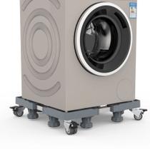 Suporte,Carrinho p/ Freezer,Lava e Seca,Refrigerador,Máquina de Lavar/Lavadora Brastemp,Consul,LG - Aj Som  Acessórios Musicais