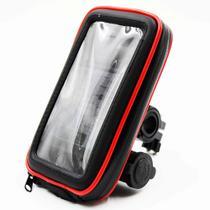 Suporte Celular Case Impermeável moto 5.7 USB SP-CA34S - Exbom