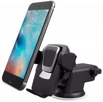 Suporte Celular GPS Carro Veicular  Trava  Automática MTG-011 - Tomate/exbom
