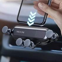 Suporte Celular Veicular Flexivel Gravitacional Saída De Ar - Car Holder