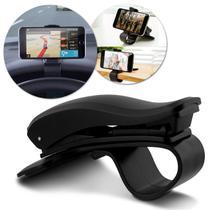 """Suporte Celular Veicular Universal Shutt Para Smartphone Tablet GPS Até 6.5"""" Com Base Antiderrapante -"""