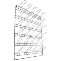 Suporte Copo Parede Simples 30 Copos 8x40cm - Aramefer