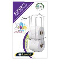Suporte cromado para papel higiênico Cód. 5186 - Mm passerini ltda