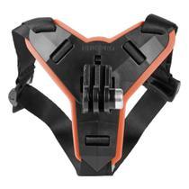 Suporte de Capacete Queixo Para Camera de Ação Sjcam Eken H9r Moto Hero Motocross Afivelado -