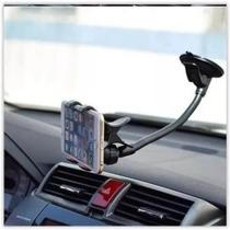 Suporte De Celular Para Carro Automóvel Haste Longa Com Ventosa Universal - Mbtech