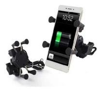 Suporte de Celular para Moto com Carregador Universal USB - Escalada