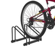 Suporte De Chão Para 2 Bicicletas Polimet Preto -