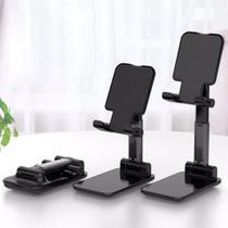 Suporte De Mesa Ajustável Celular Tablet Dobravel Universal - Sem