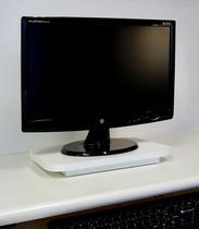 Suporte de Mesa Giratório 360 para Monitor - Branco - Formalivre