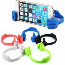 Suporte de Mesa para Smartphone e Ipad Mãozinha - Diversas cores - Riowyw