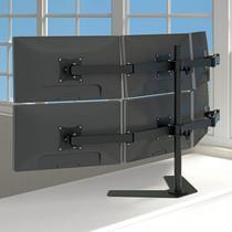 Suporte de mesa triarticulado para 6 monitores - MT-6-ERGO-PR - Multivisão