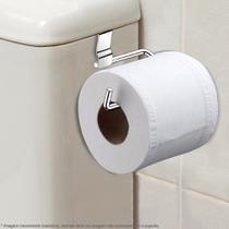 Suporte De Papel Higiênico Para Caixa De Descarga Aço Cromado - Plugador