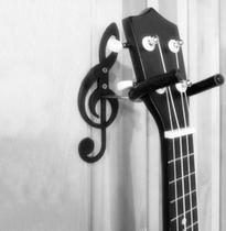 Suporte De Parede Clave de Sol Para Violão Guitarra Musical - Scorpion