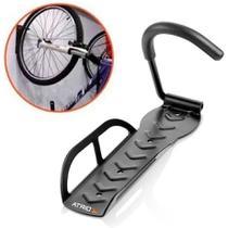 Suporte De Parede Para Bicicleta Acolchodo Suporta até 20Kg Átrio BI054 -