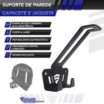 Suporte de Parede para Capacete e Jaqueta - Shieldmotors