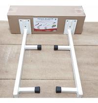 Suporte de parede para Lava-Louças até 90kg Branco Compacta - Av&T