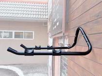 Suporte De Parede Para Pendurar 2 Bicicletas Borracha Apoio - Metal Lini