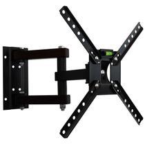 Suporte de Parede Tri-Articulado p/ TV 10 a 55 Pol LCD / LED / Plasma / 3D - SBRP 140 Brasforma -