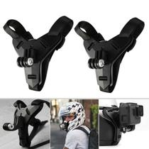 Suporte de queixo p/ capacete de Moto- GoPro e similares - Lock