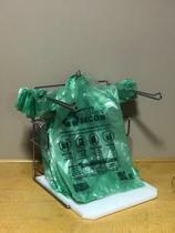 Suporte de sacolas plásticas para supermercado - Embale Fácil