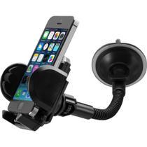Suporte de Smartphone com Mola Para Ajustar Celular no Carro - Fortrek