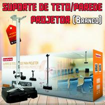Suporte de Teto / Parede para Projetor Branco SBRP756B Brasforma -