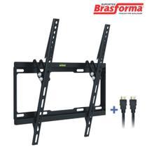 """Suporte de TV LED/LCD 32"""" a 55"""" Inclinável Preto SBRP414 Brasforma -"""