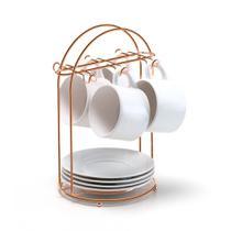 Suporte de Xícara de Café Rose Gold Arthi -