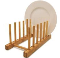 Suporte Display 6 Pratos de Bambu Cla06013 - Wincy