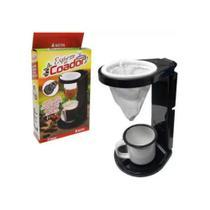 Suporte Dobrável c/ Mini Coador de Café - Expresso no Coador Keita -
