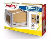 Suporte empilhável para pasta suspensa c/10 pastas - Waleu -