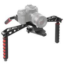Suporte Estabilizador para Ombro Spider Rig Shoulder Pad Câmeras e Filmadoras Nikon Canon Sony Panas - Greika