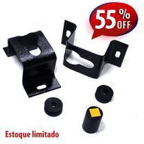 """SUPORTE FIXO PARA TV E MONITOR TELAS DE 10"""" A 100"""" POLEGADAS para parede ou painel. - Cab Quality"""