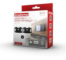 Suporte Fixo TV Metal 10 a 71 Smart Led Lcd P/ Parede Painel SBRU750 - Brasforma