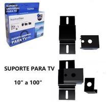Suporte Fixo Universal Tv Led Lcd Smart Parede Rack Home - Homeflex