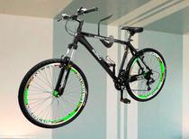 Suporte Gancho Aço Para Pendurar Bike na Parede Teto - Prat-K