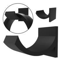 Suporte Headset Gamer HeadphoneNa Cor Preta Para Fones - Usina de Coisas