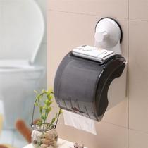 Suporte Impermeável de Papel Higiênico para Banheiros com Ventosa de Sucção - Tato