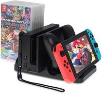 Suporte Multifuncional Nintendo Switch Dock Carregador Stand - Dobe